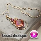 Tutorial - Videos: How to Make Wire Jewelry Components for the Ambrosia Earring Set | Beadaholique