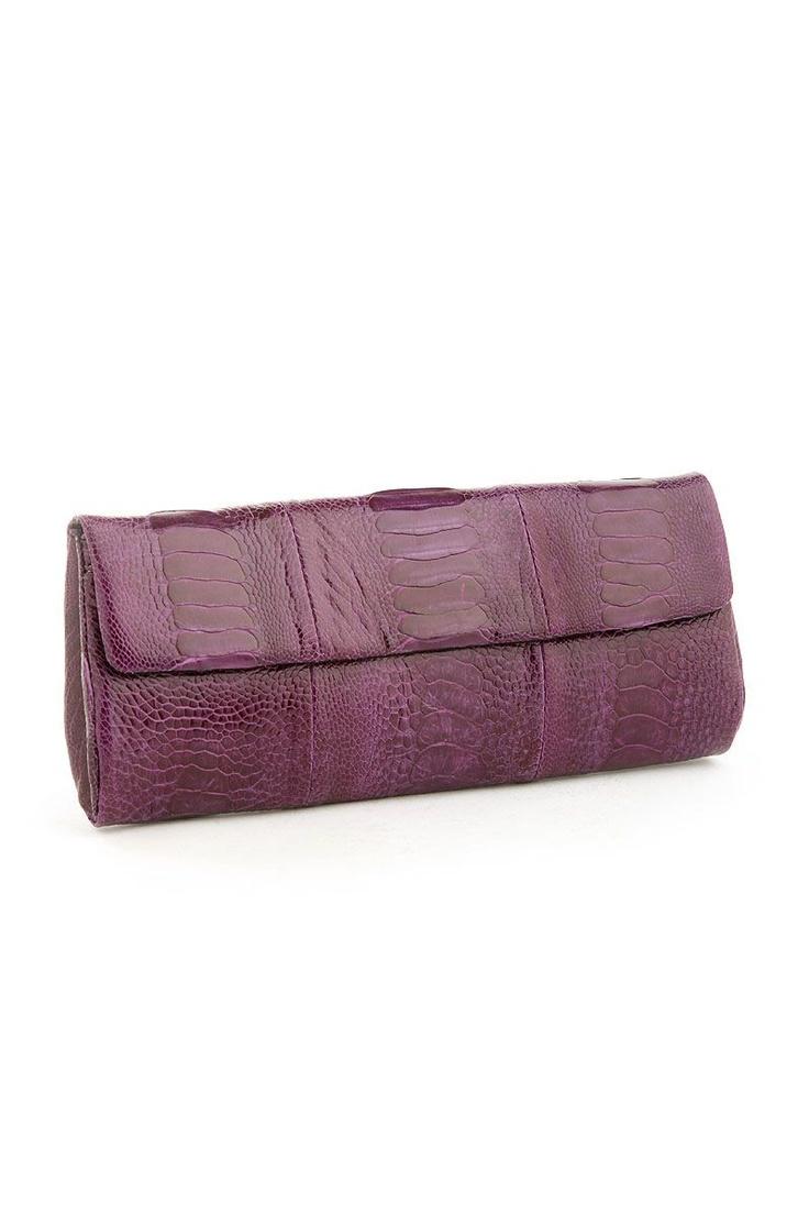 Medium Clutch Bag Violet from Naledi on Brandsfever