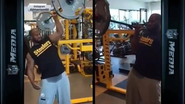 James Harrison's workout routine is INSANE!