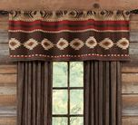 Western Shower Curtains: Cimarron Southwest Shower Curtain|Lone Star Western Decor