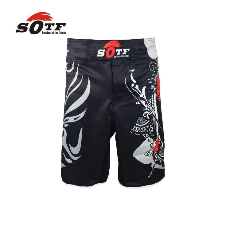 Пекин Особенности Лица дышащий хлопок боксер шорты мма спортивная подготовка тайский бокс mma fight шо ртс бой шорты мма
