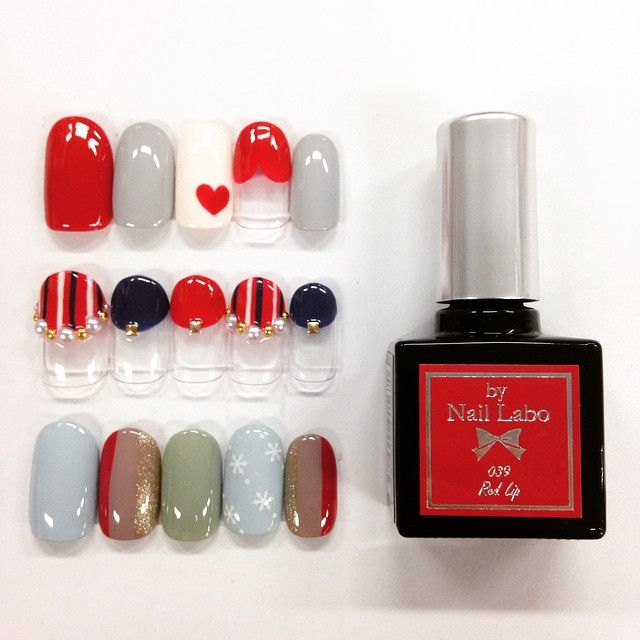 マスト買いレッド❤️ #bynaillabo #naillabo #gel #gelnail #nail #nailart #colorgel #ネイルラボ #バイネイルラボ #ジェル #ジェルネイル #カラージェル #セルフネイル #セルフジェルネイル