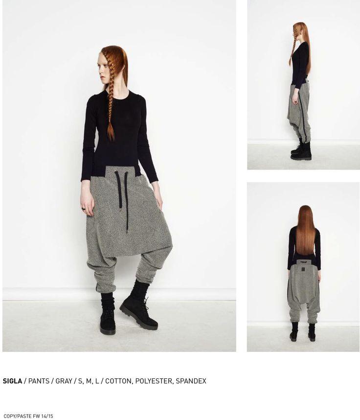 nenukko.com #gray #harem #pants #streetwear