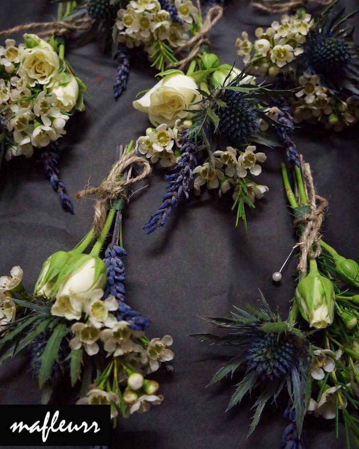 Rustic inspired button holes #mafleurr #flower #florist #buttonaire #buttonholes #buttonhole #wedding #suit #luxury #bespoke #millionaire #billionaire #celebrity #blue #ross #northwest #bolton #blackurn #preston #manchester #love #vintage #asianwedding #brand #business http://tipsrazzi.com/ipost/1508611840576621766/?code=BTvqnndhIzG