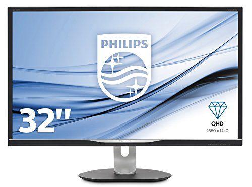 Philips BDM3270QP2/00 81 cm (32 Zoll) Monitor (VGA, DVI, HDMI, Displayport, USB-Hub, 5ms Reaktionszeit, 2560 x 1440, 60 Hz, Pivot) schwarz #Philips #BDMQP/ #Zoll) #Monitor #(VGA, #DVI, #HDMI, #Displayport, #Hub, #Reaktionszeit, #Pivot) #schwarz
