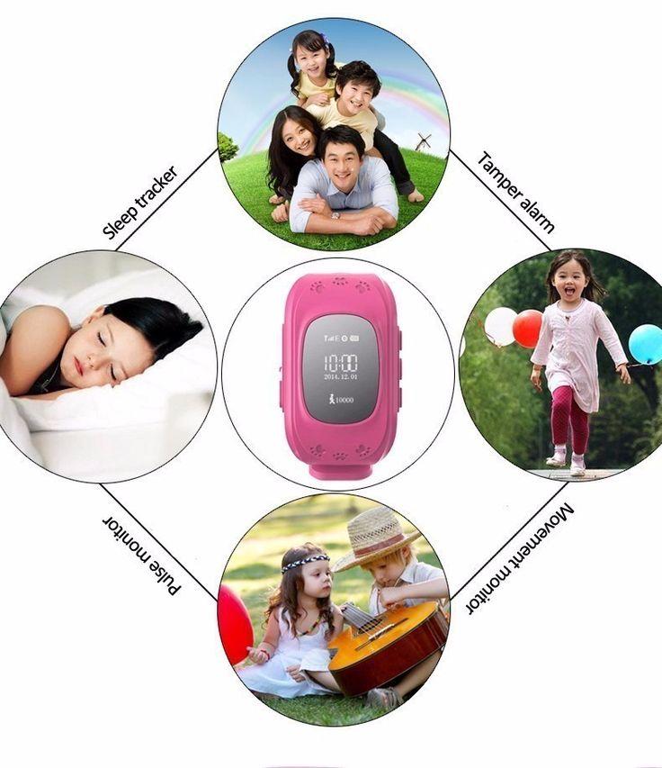 Bebé inteligente Reloj Q50 Niños Reloj GPS Tracker Reloj SOS Llamada Ubicación Localizador Monitor Anti-perdida Smartwatch para el Cabrito PK Q80 envíos gratuitos en todo el mundo