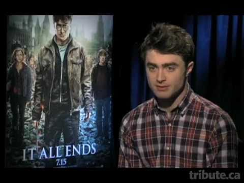 Daniel Radcliffe - Harry Potter and the Deathly Hallows: Part 2 Interview
