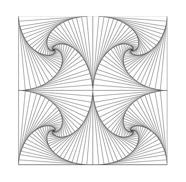 geometric coloring pages to print free