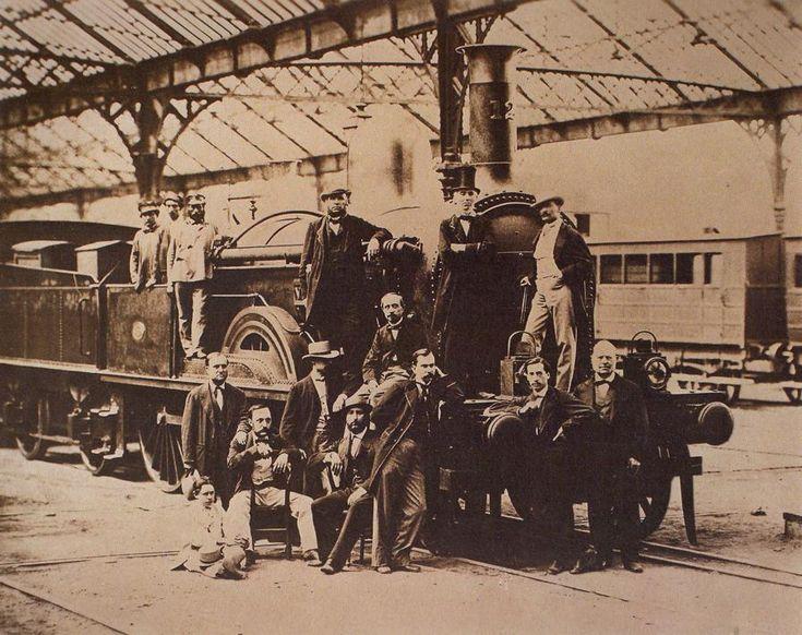 Tren Barcelona Mataro 1848