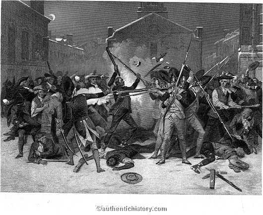 Boston Massacre  American Revolutionary War