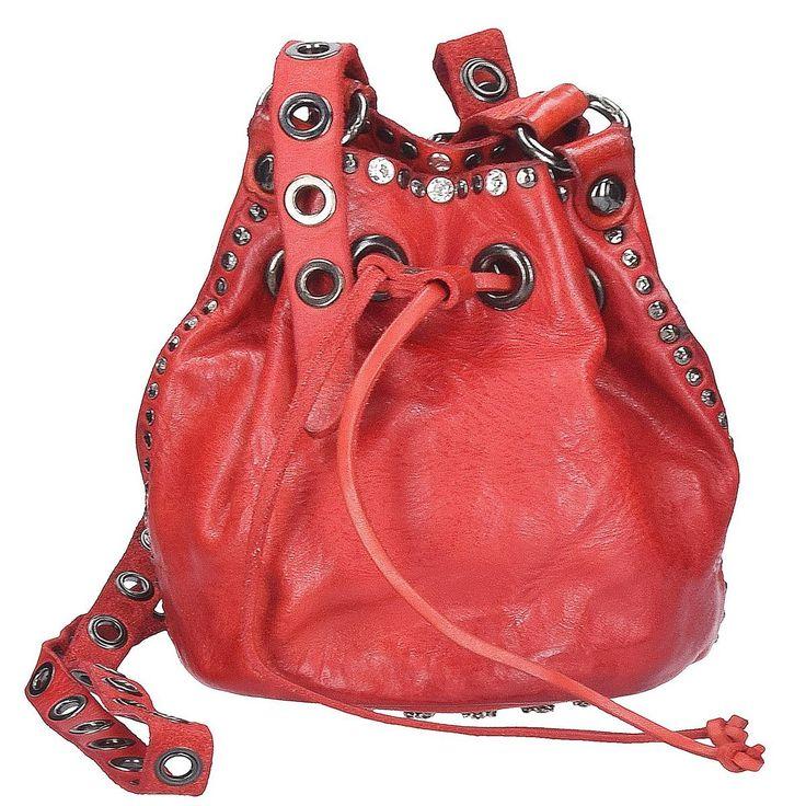 Campomaggi Bella di Notte Beuteltasche Leder 16 cm, red