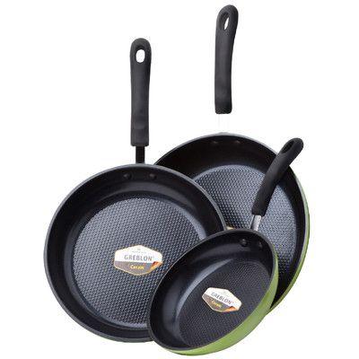 $87 - SAFE! - Ozeri Green Earth 3-Piece Non-Stick Frying Pan Set