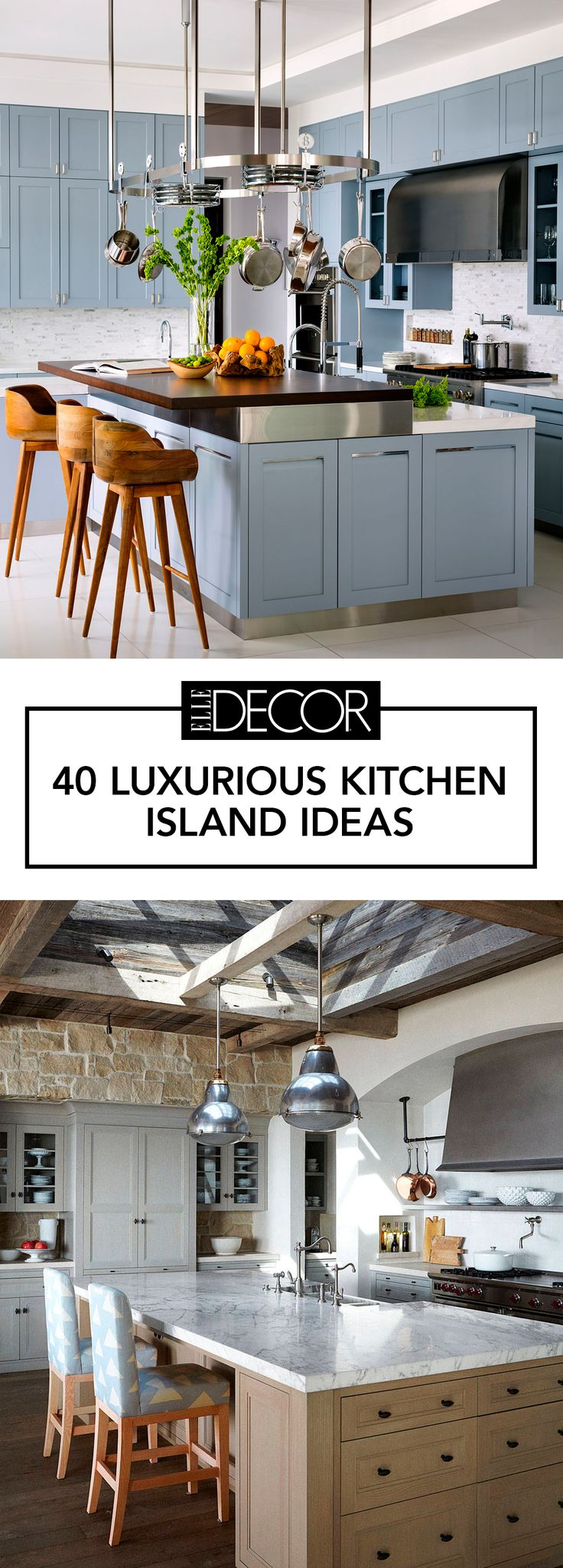The top 40 luxurious kitchen island ideas to inspire your next home improvement project.