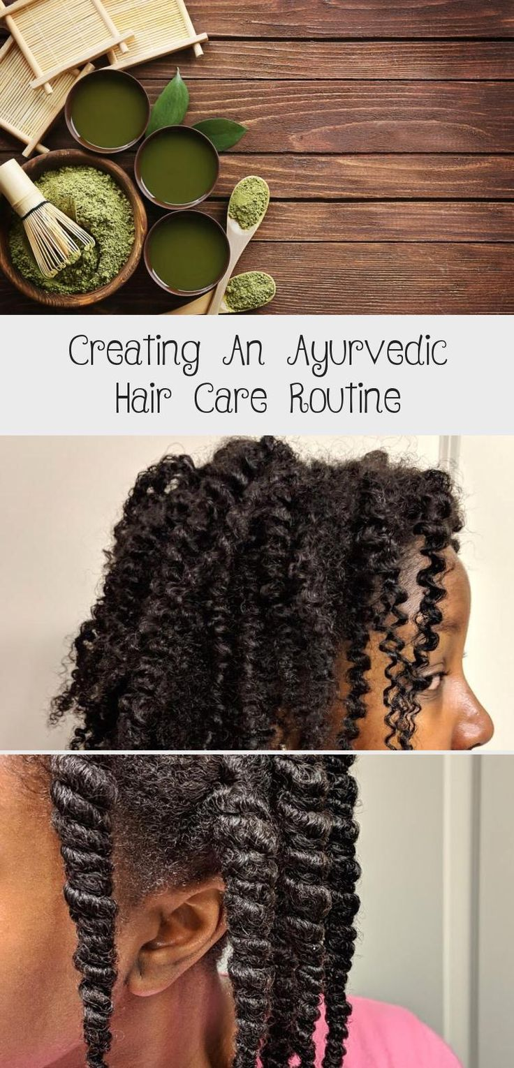 How to create an ayurvedic hair care routine for hair