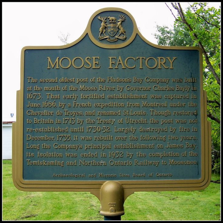 Moose Factory, Ontario.
