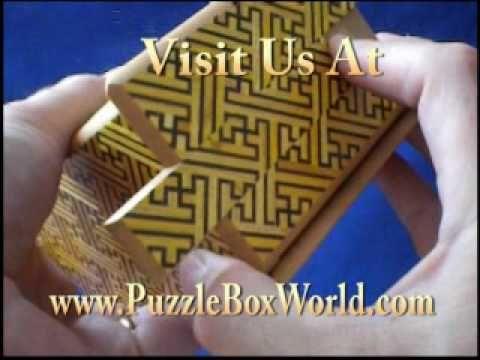 5 Sun 27 Step Kizaya Japanese Puzzle Box by Okiyama-san