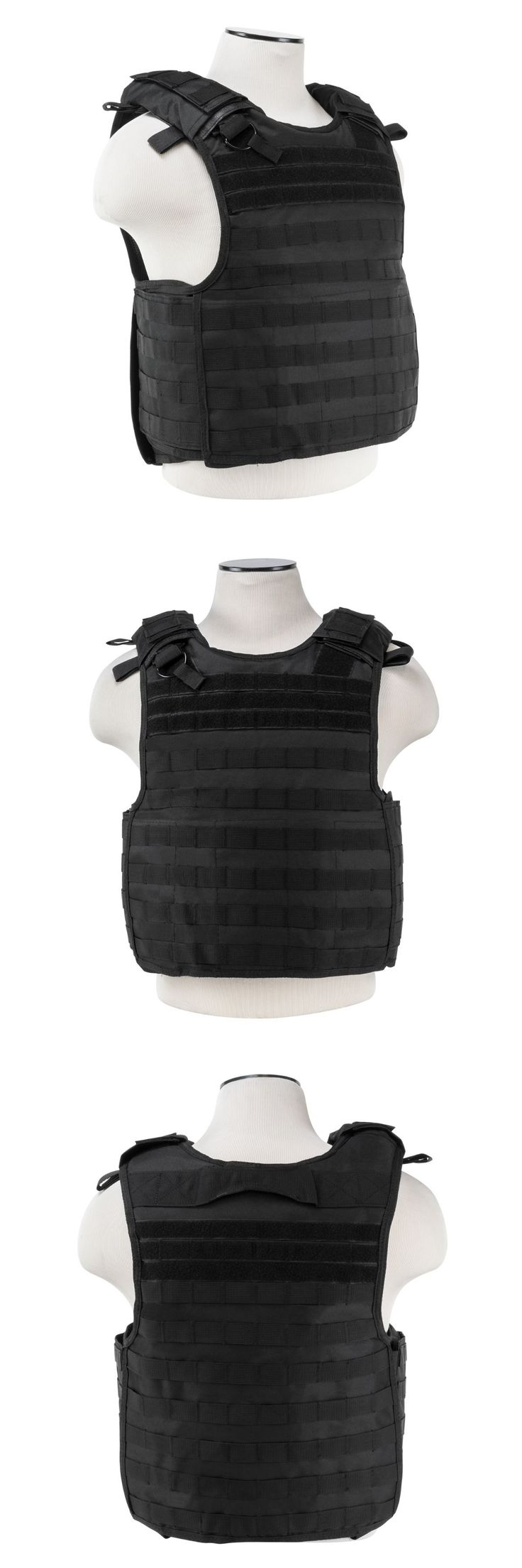 Chest Rigs and Tactical Vests 177891: Ncstar Vism Black Quick Release Operator Plate Carrier Body Armor Chest Rig -> BUY IT NOW ONLY: $54.95 on eBay!