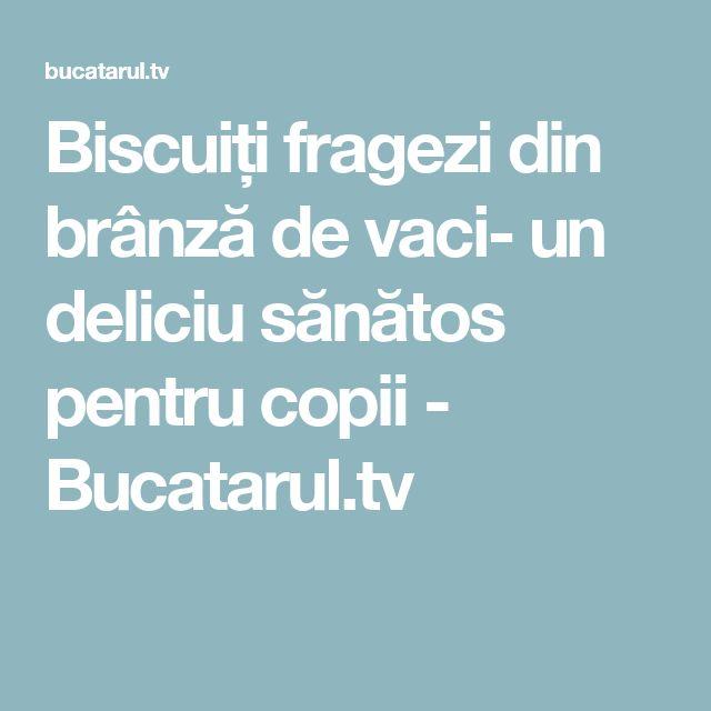 Biscuiți fragezi din brânză de vaci- un deliciu sănătos pentru copii - Bucatarul.tv