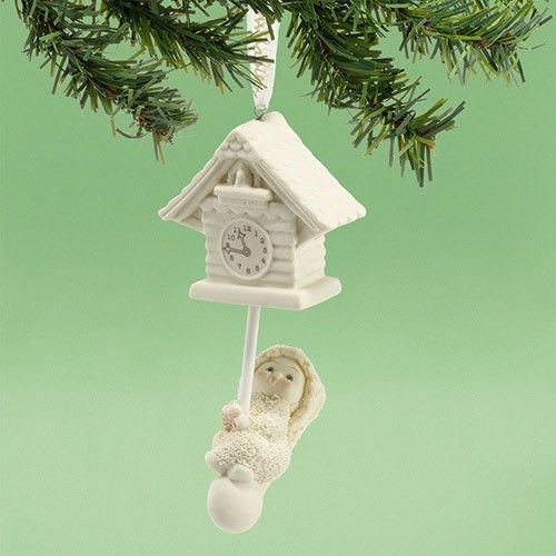Snowbabies - Christmas Cuckoo, Ornament // department56corner.com