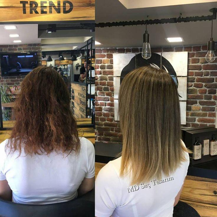 Change Yourself ✌ #izmir #kuaför #trend #trendhair #izmirde #degisim #balyaj #ombre #isilti #isiltilisaclar #hairoftheday #lovehair #hairstyle #haircolor #hairdresser #hairfashion #hairdesign #exclusivesalon #mdsactasarim @mdmetindemir