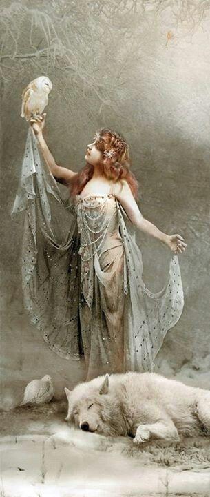 Celtic goddess                                                       …