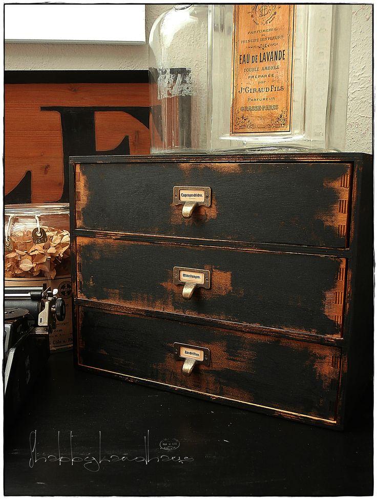 mini moppe Ikea wood storage chest