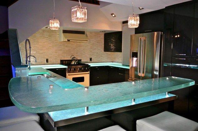 Encimeras de cocinas en cristal – chispis.com