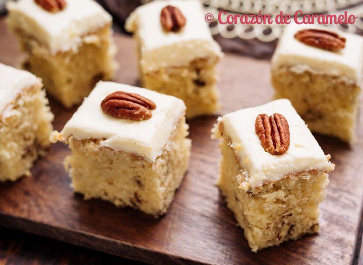 https://flic.kr/p/F2hrGK | Pastel de Sirope de Arce y Nueces Pecanas | Blog Corazón de Caramelo www.corazondecaramelo.es