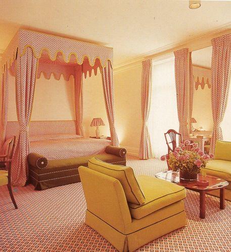 David Hicks bedroom.