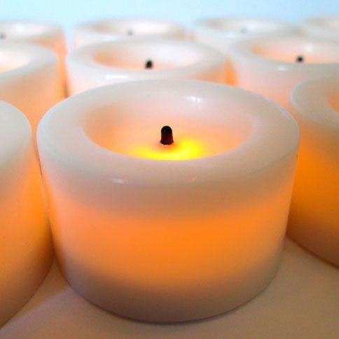 Lights Com Flameless Candles Tea Lights Mini