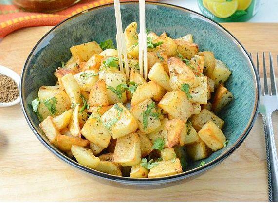 Aloo Chaat | Aloo Chaat Recipe - Yummy Recipes