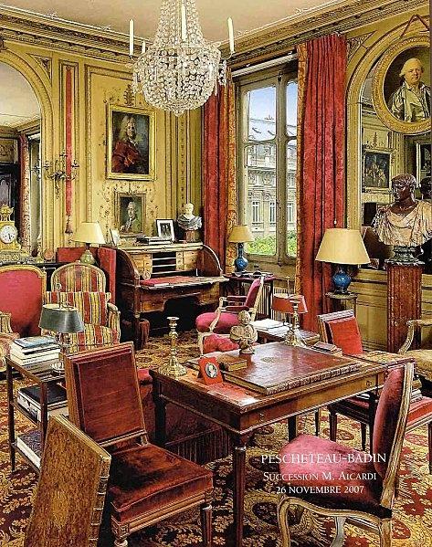 Appartement au Palais-Royal, ancienne collection de monsieur Maurice Aicardi (1919-2007)