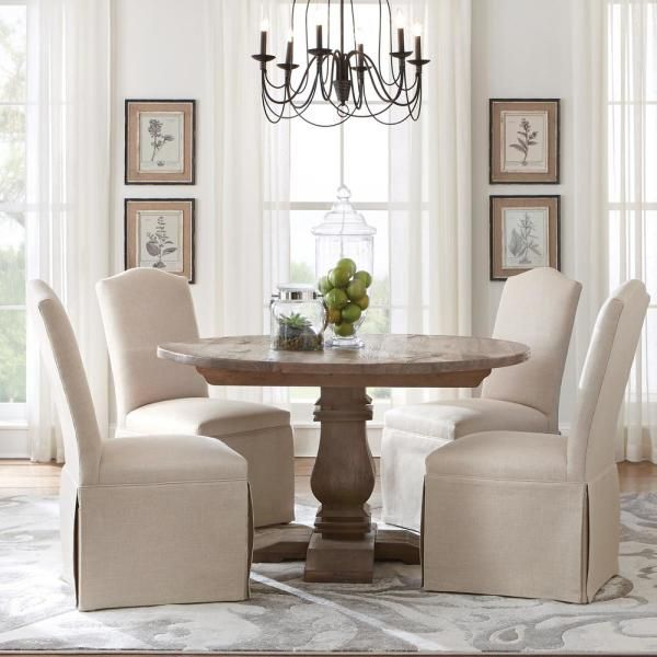 Home Decorators Collection Aldridge Antique Grey Round Dining Table Nb024ag The Home Depot Grey Dining Tables White Round Dining Table Grey Round Dining Table