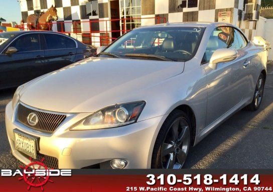 Convertible, 2011 Lexus IS 250C with 2 Door in Wilmington, CA (90744)