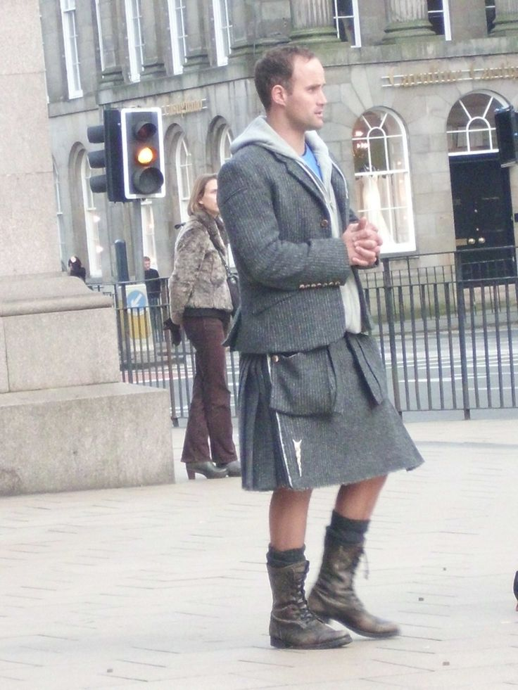 modern kilt in Edinburgh