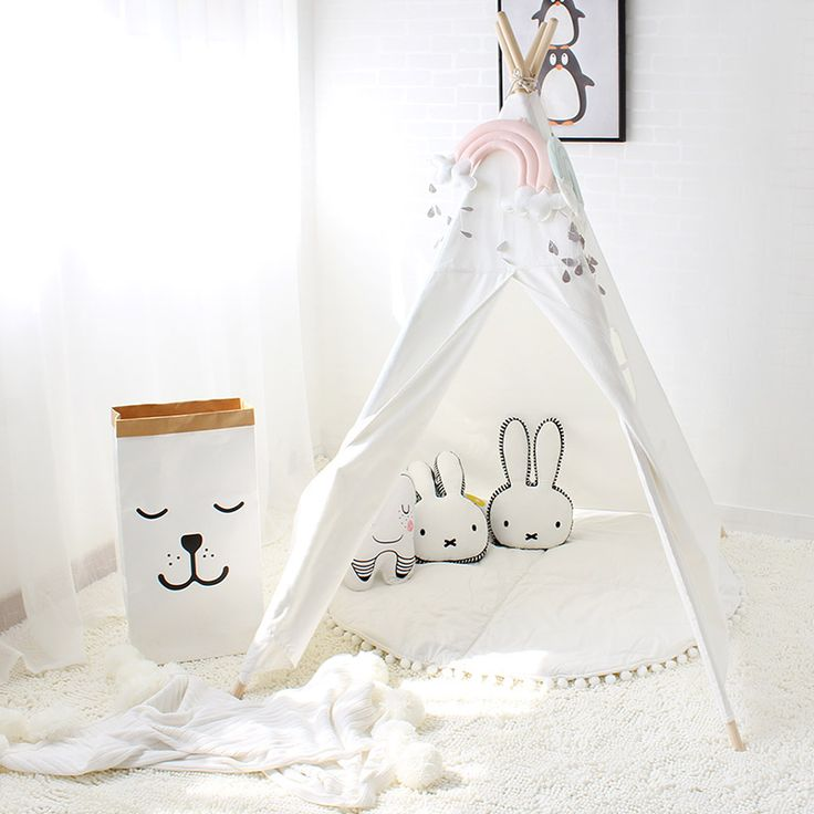 Kids Teepee -- A space to imagine anything is possible