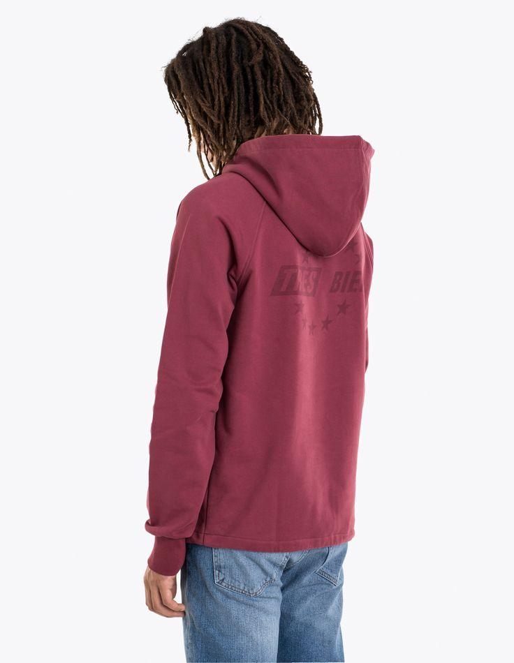 Très Bien - Hooded Sweatshirt Burgundy | TRÈS BIEN