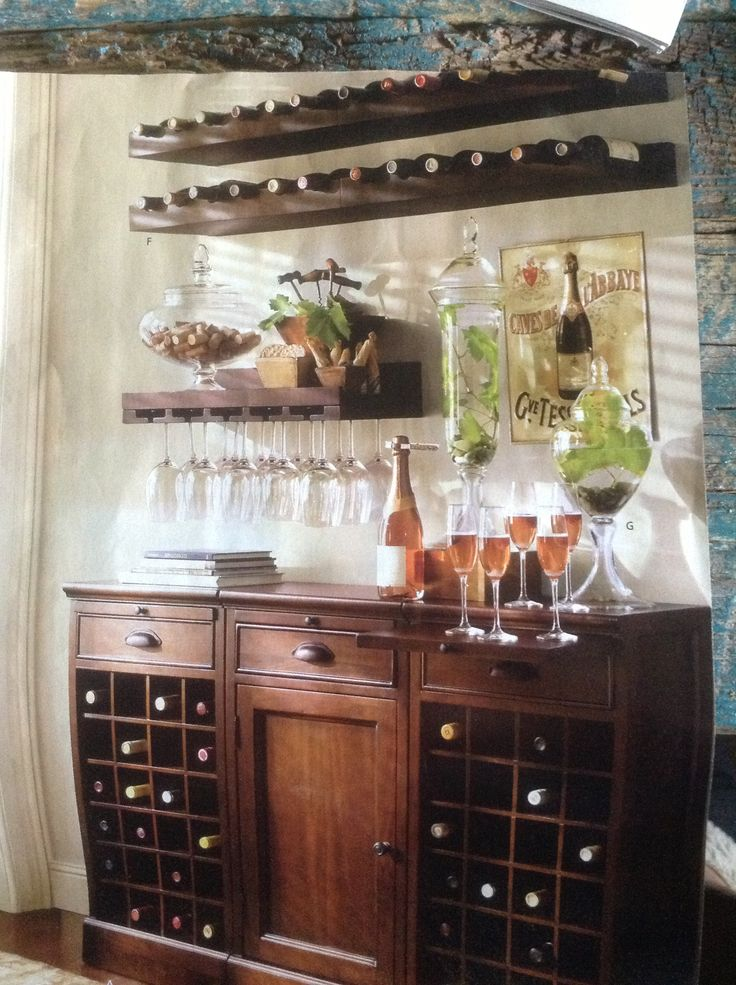 17 Best Ideas About Wine Station On Pinterest Things