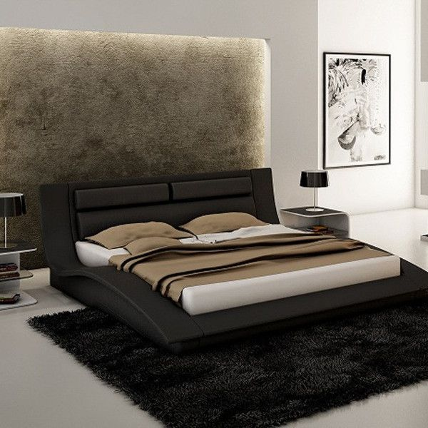 EuroLiving $1750 Wave Bed from Euro Living Furniture