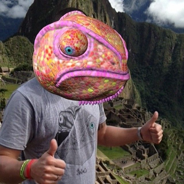Our friend Cristian has sent a picture in Machu Picchu! He told us that it was the #augmentedreality T-shirt which gave him the strength to reach the top. Thanks for share this great moment with us!