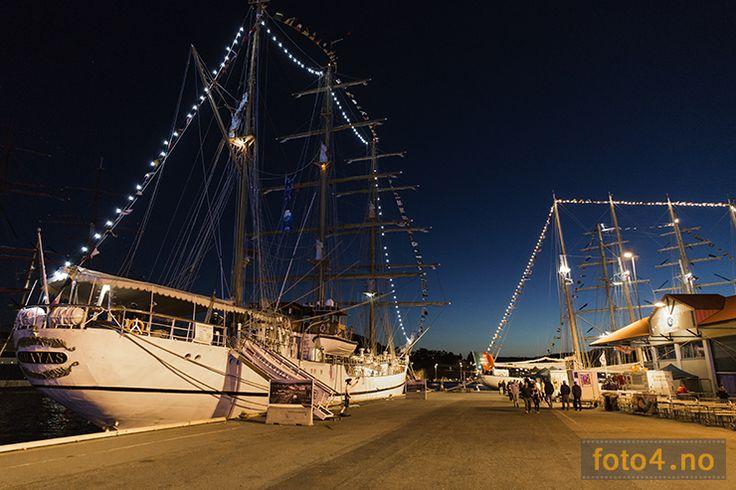 #Guayas nattfoto undet Tall Ship Races i Kristiansand 2015.