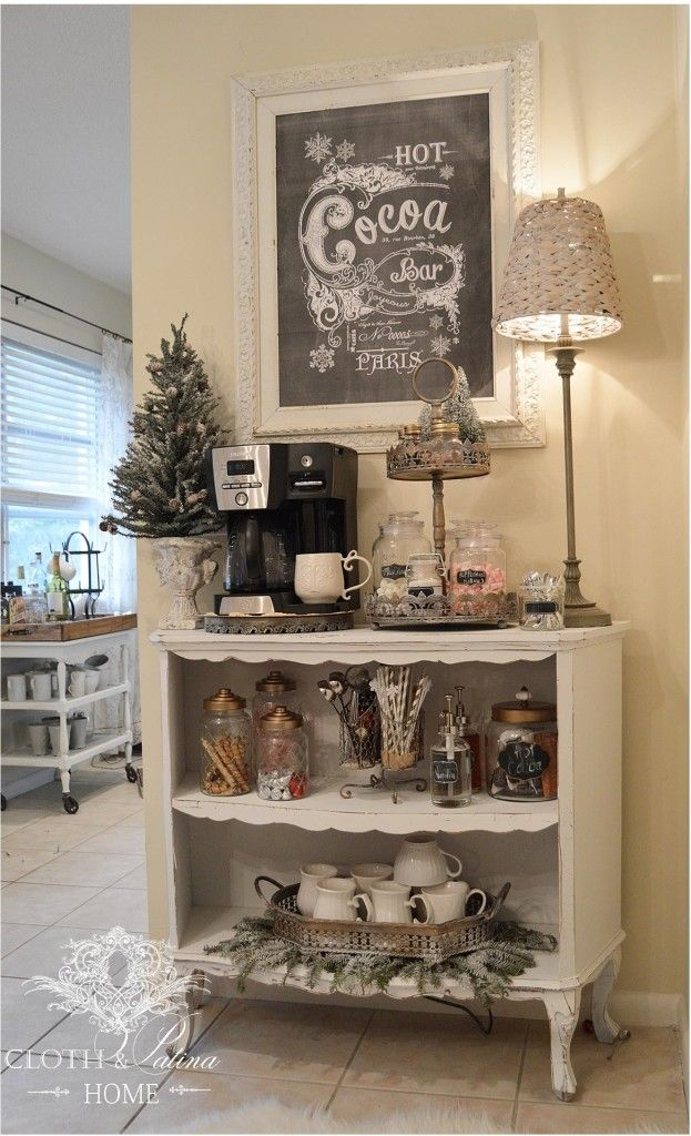 7 Cute DIY Coffee Bars - Holly Jo's Coffee