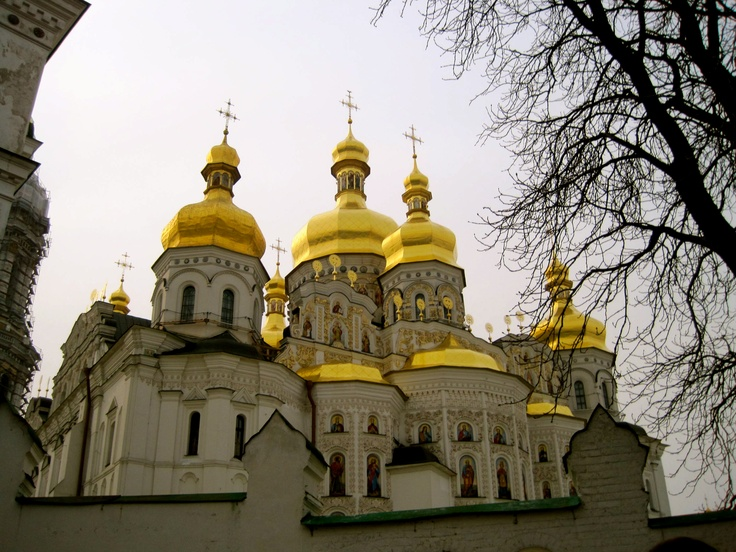 at the lavra- kyiv, ukraine