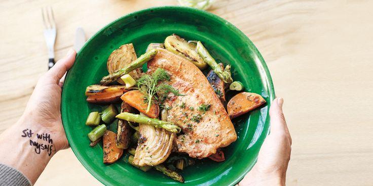 Sarah's Recalibrating Pork Meal