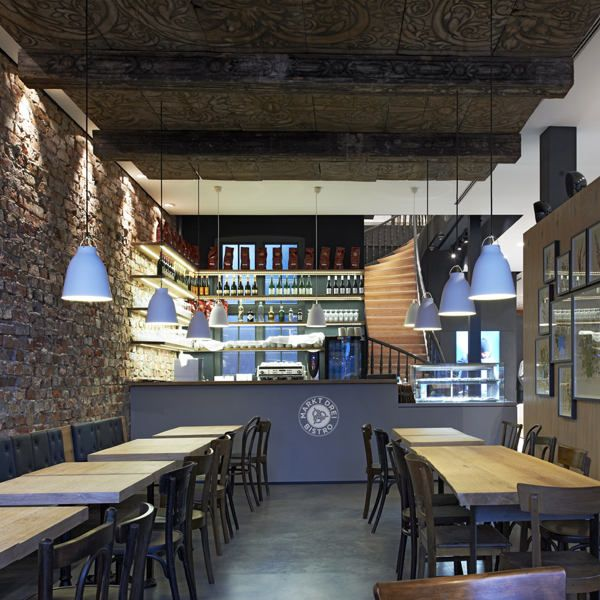 Markt Drei Bistro in Lüneburg by Blocher Blocher Partners
