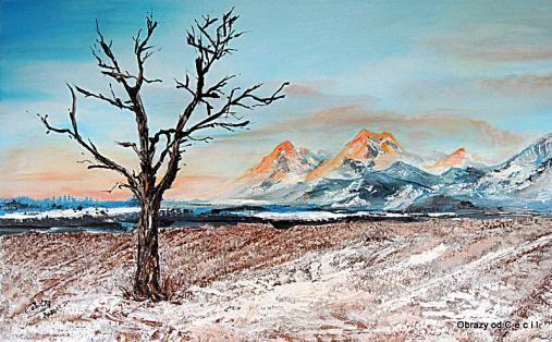 Na samote by Cecil - SAShE.sk - Handmade Obrazy