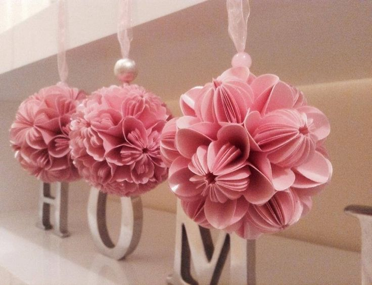 Kusudama flower balls