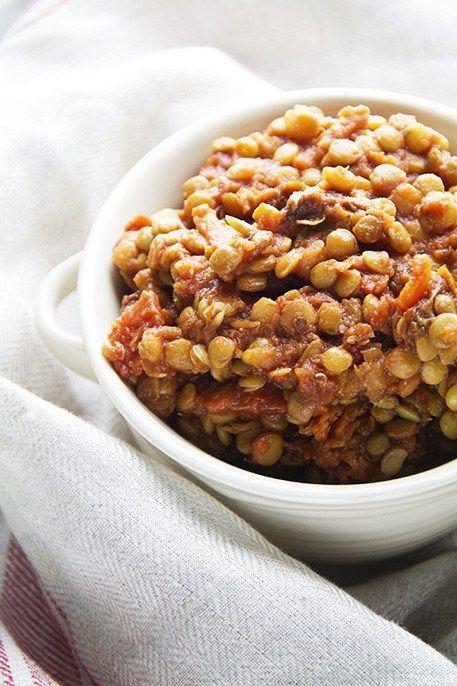 Ragù di lenticchie a lenta cottura