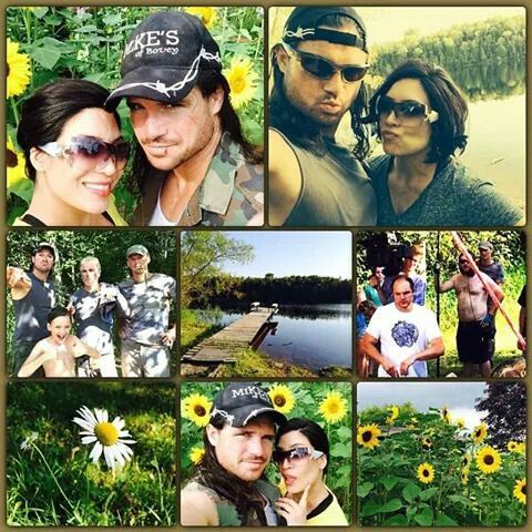 Former WWE Superstar John Morrison (John Hennigan) and his long-time girlfriend Melina Perez #WWE #wwecouples
