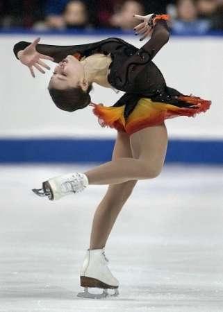 Sasha Cohen Purple Figure Skating / Ice Skating dress inspiration for Sk8 Gr8 Designs.